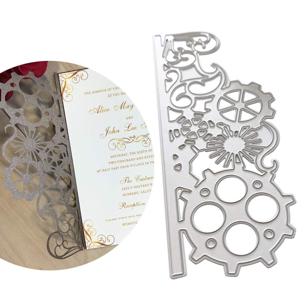 La D/écoration DAlbums DIY Dies De Decoupe Castle- pour Le Scrapbooking La Fabrication De Cartes Le Cadre Photo Kafen Matrices De D/écoupe