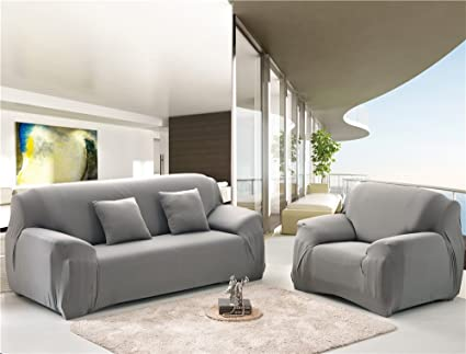 Amazon.com: NHockeric Stretch Seat Chair Covers Couch Slipcover Sofa ...