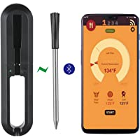gootrades Wireless Meat Thermometer - 100ft Range True Smart Bluetooth Connectivity Flesh Thermometer for Grill Oven…