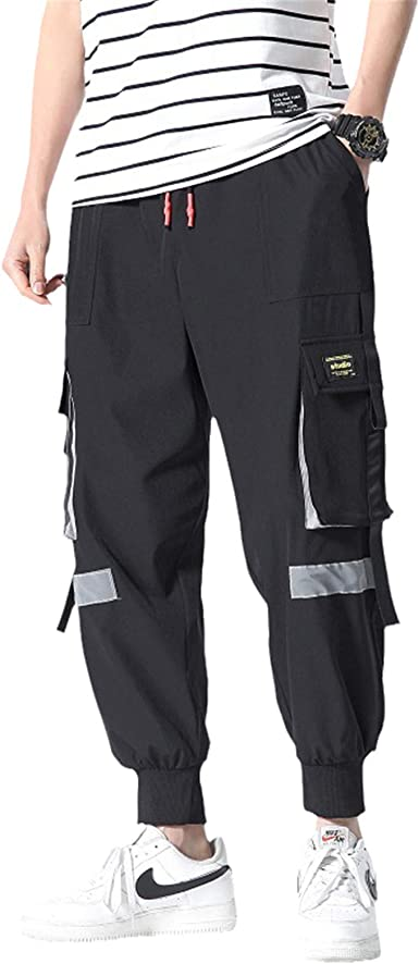 Pantalones Largos Deportivos Moda Hip Hop Para Hombre Casual Chándal De Invierno