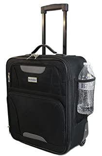 BoardingBlue Rolling Personal Item Luggage Under Seat for America & Southwest Airlines