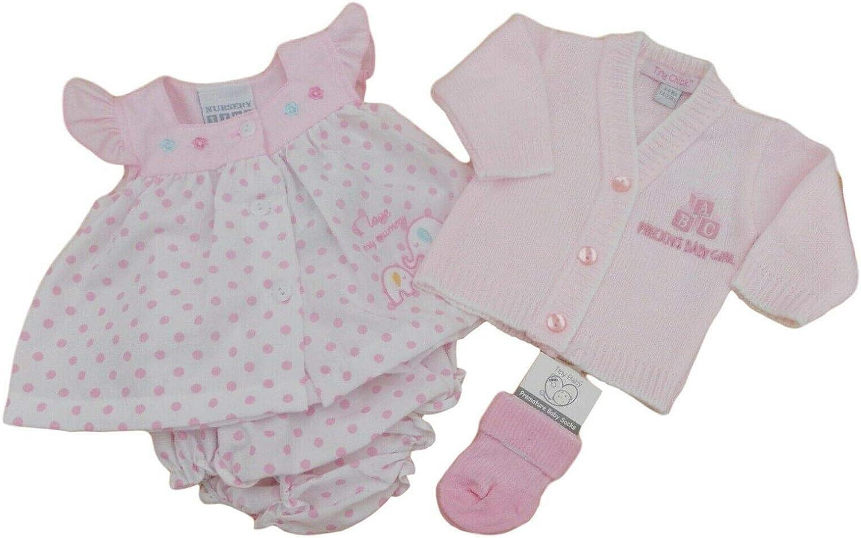 with Tags Tiny Premature Preemie Baby Girls Summer Dress Cardigan Socks