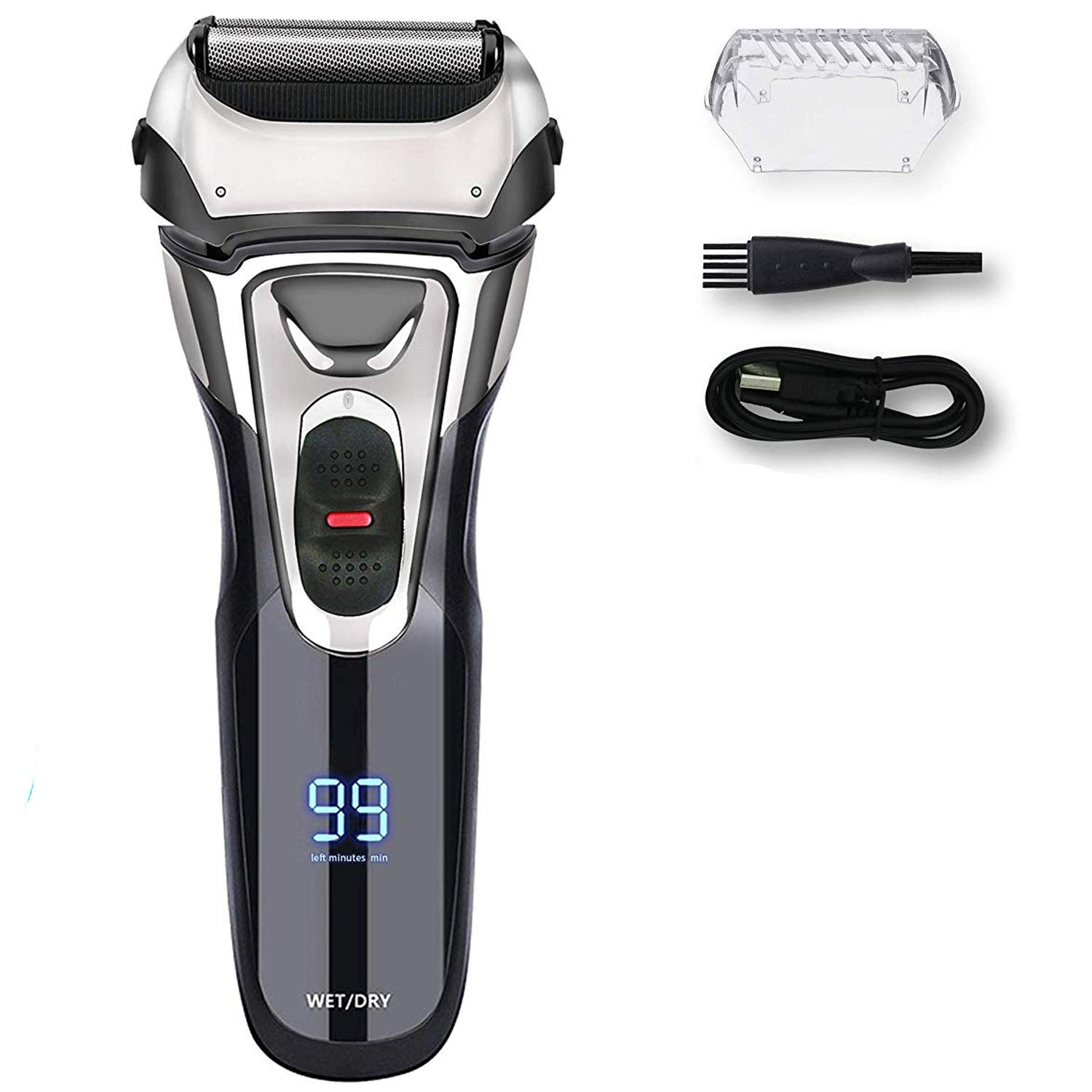 Awecot Electric Razor for Men: Best IPX7 Waterproof Men's Electric Shaver