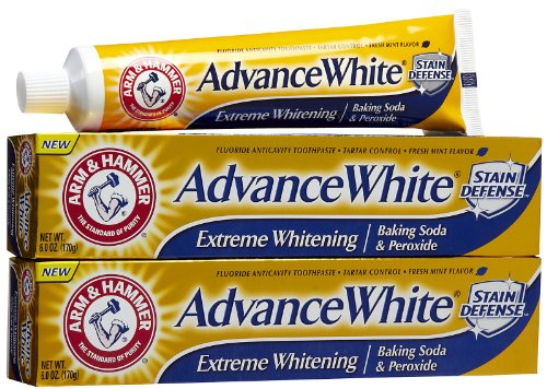Arm & Hammer Advance White, Baking Soda & Peroxide, Size: 6