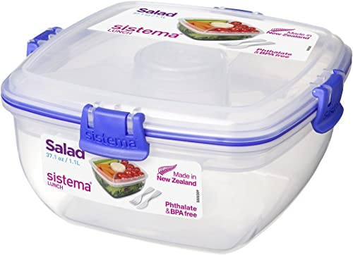 Sistema To Go Collection Salad Compact Food Storage Container