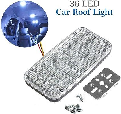 12V 36 LED BA15S 1156 WHITE GLOBE Automotive//Car//Caravan//Boat//Trailer Light Bulb