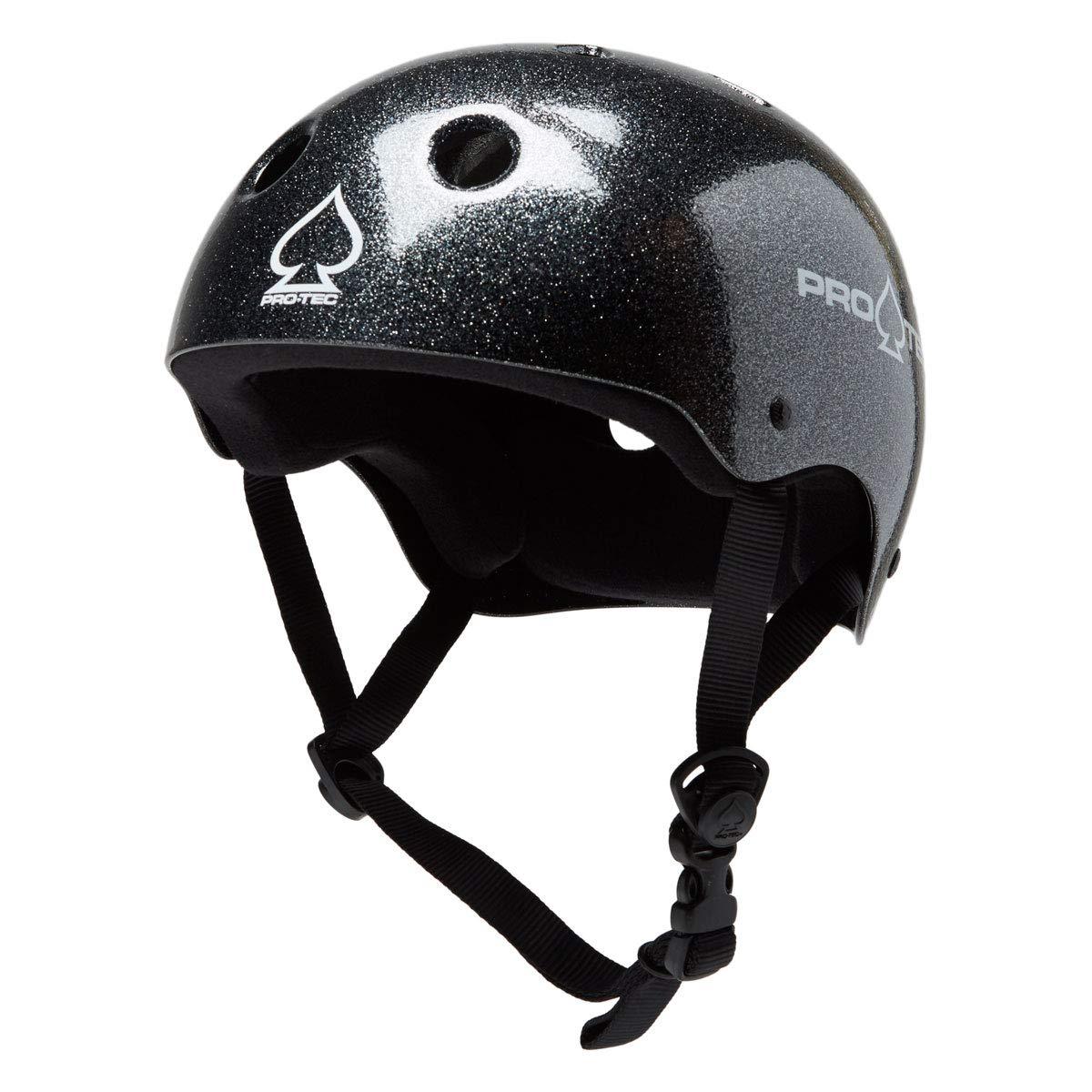 Pro Tec Classic Skate Helmet - Black Metal Flake - XL