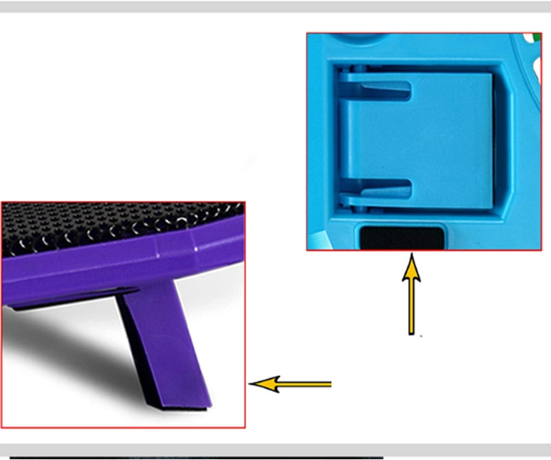 Color : Black XIAOF-FEN Laptop Cooler Super Thin Mute Cooling Fan 36271.9 cm USB Fan