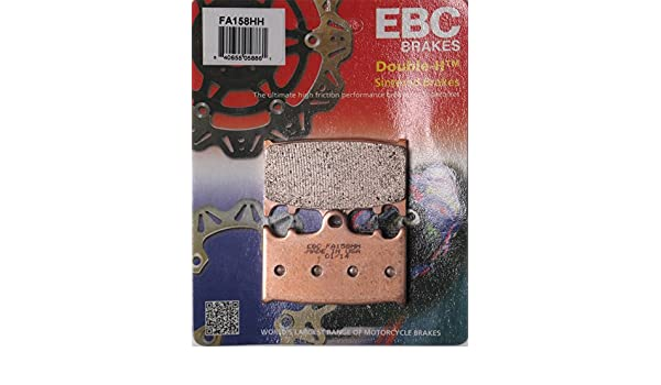 1994-2006 Kawasaki ZG1000 Concours FA129HH EBC Sintered Double H Front Brake Pads 2 Sets