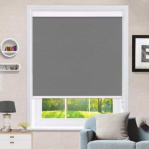 MiLin Window Shades 100 Blackout Roller Shade