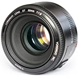 YONGNUO YN50mm F1.8 Standard Prime Lens Large Aperture Auto Focus Lens for Canon EF Mount Rebel DSLR Camera