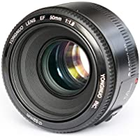 YONGNUO YN50mm F1.8 Lens Large Aperture Auto Focus Lens for Canon EF Mount EOS Cameras