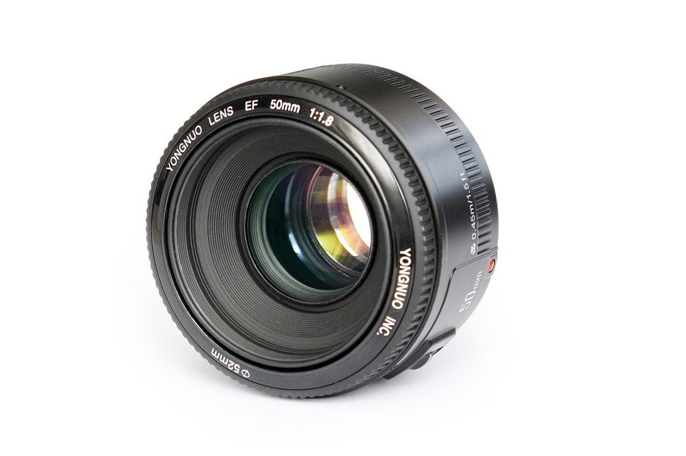 YONGNUO YN50mm F1.8 Lens Large Aperture Auto Focus Lens for Canon EF Mount EOS Cameras by Yongnuo