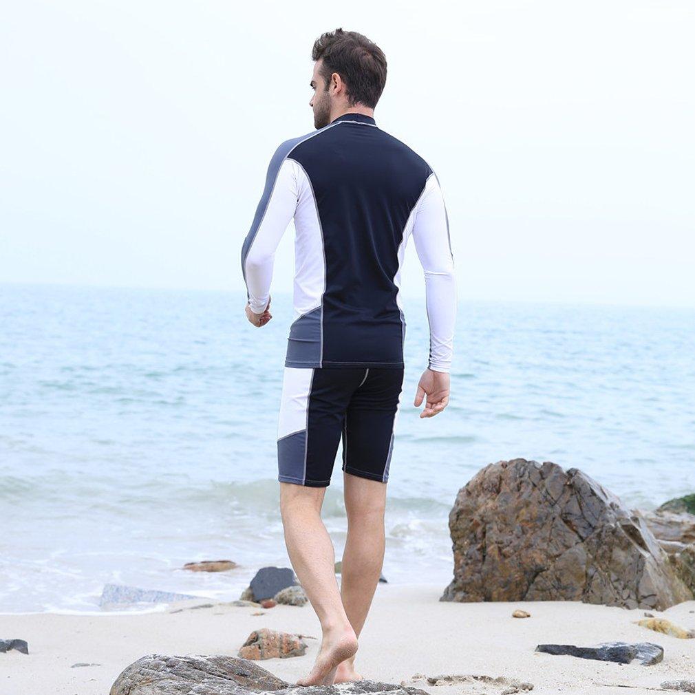 Thenice Mujeres Hombre Dividir Mono Medusas Ropa UV Protector Solar Traje de Buceo Traje de Buceo Traje de Surf Ropa Interior Pantalones Cortos para ...