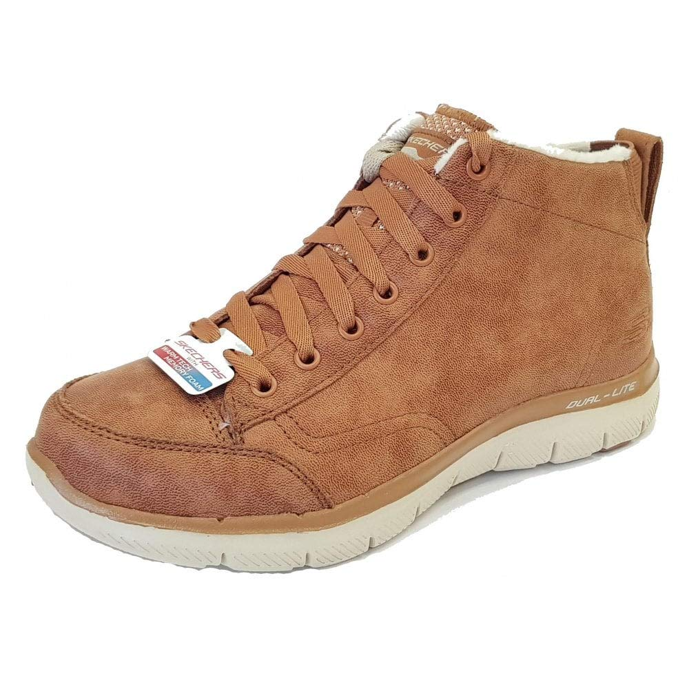 Zapatillas Skechers – Flex Appeal 2.0-Warm Wishes Marrón Talla: 38 38 EU