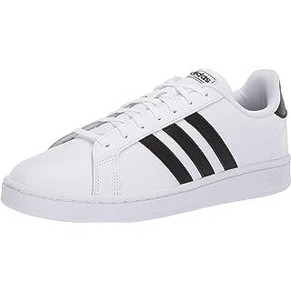 adidas Men's Grand Court, Core Black/Cloud White, 5 M US