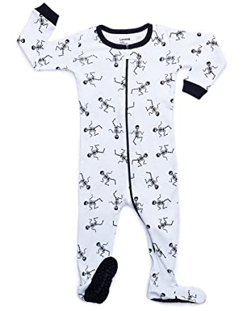 a571d5d7e Amazon.com  Leveret Baby Boys Girls Footed Pajamas Sleeper Halloween ...