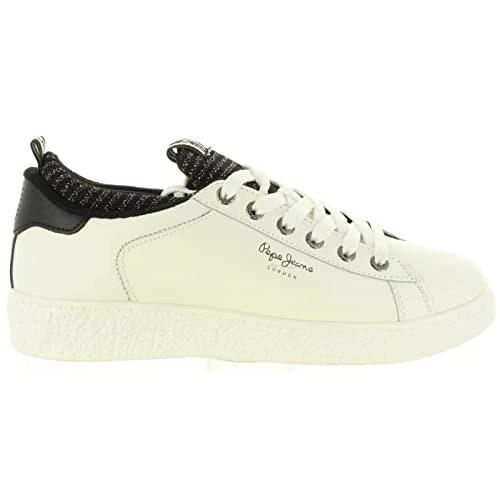 Zapatillas PEPE JEANS PLS30780 Roxy Sock 800WHITE: Amazon.es: Zapatos y complementos