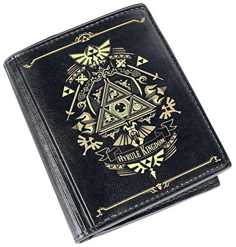 Hyrule Kingdom The Of Gold gold Black Wallet Zelda Black Legend Itx1gqxF