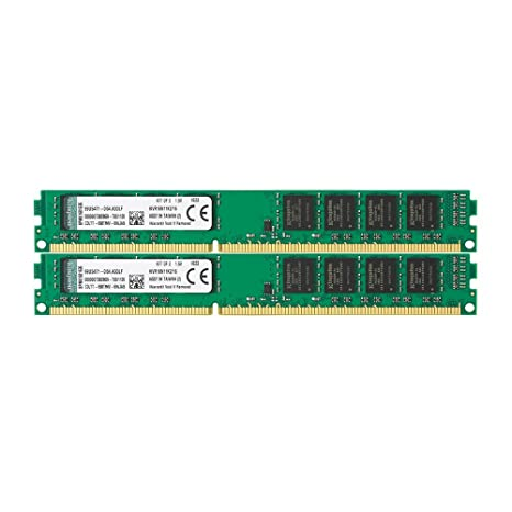 Kingston KVR16N11K2/16 - Memoria RAM de 16 GB (1600 MHz DDR3 Non-ECC CL11 DIMM Kit (2x8 GB) 240-pin, 1.5V)