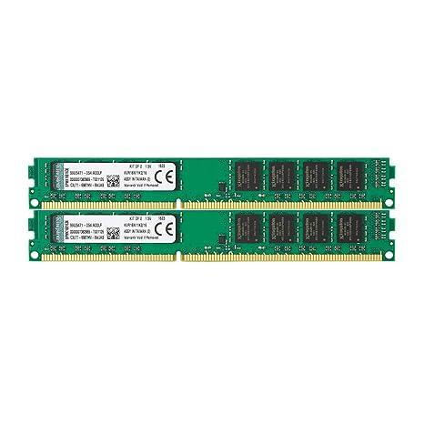 Kingston KVR16N11K2/16 - Memoria RAM de 16 GB (1600 MHz DDR3 Non-ECC CL11 DIMM Kit (2x8 GB) 240-pin, 1.5V)