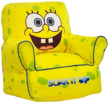 Surprising Nickelodeon Spongebob Squarepants Bean Bag Sofa Chair Gmtry Best Dining Table And Chair Ideas Images Gmtryco