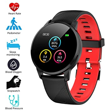 Padgene Smartwatch IP67 Impermeable Pantalla Color ...
