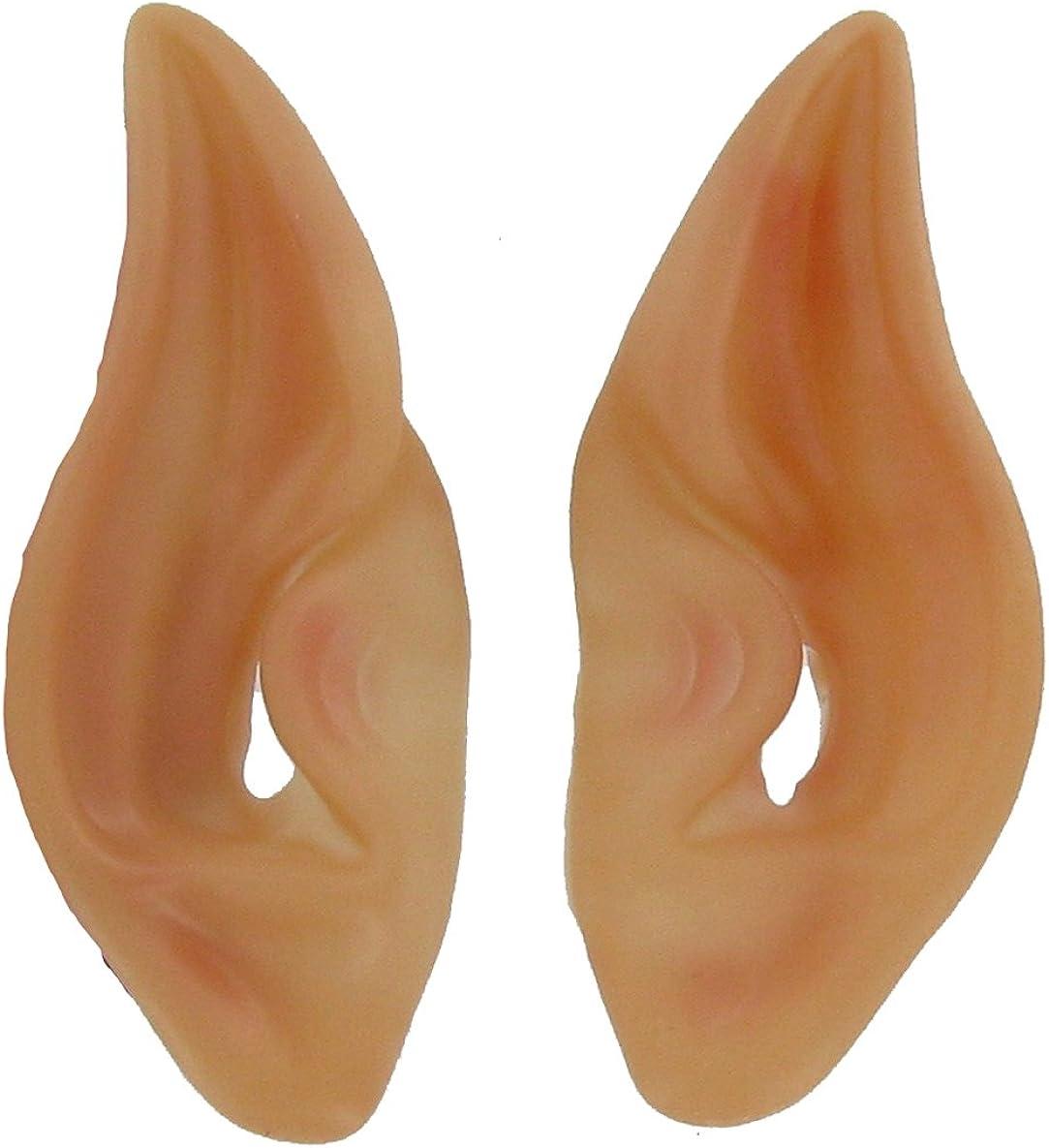 Latex Alien Elf Fairy Goblin Ears Cosplay LARP Unisex 7 Pack