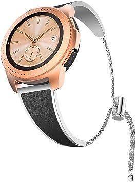 Yayuu Correa de Reloj para Samsung Galaxy Watch 42mm/Galaxy Active ...