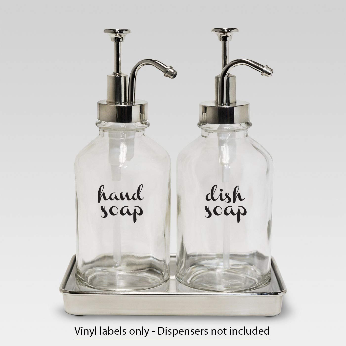 Hand Soap Dish Soap - vinyl decal sticker farmhouse kitchen