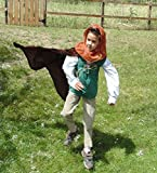 Boys 5-7 adjustable Robin Hood with doublet, cape, and hood