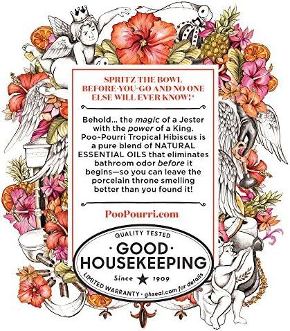 PooPourri BeforeYouGo Toilet Spray Tropical Hibiscus Scent 2 oz
