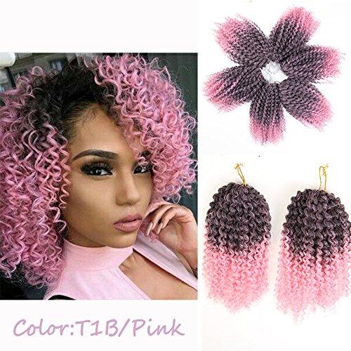 3pcs Pack 10 Afro Kinky Twist Hair Crochet Braids Short Import