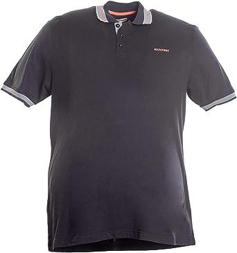 Maxfort Polo tallas fuertes hombre mujer camiseta manga corta algodón azul oscuro 9XL: Amazon.es: Ropa y accesorios