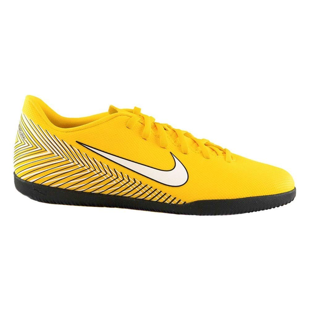 Nike Jr Vapor 12 Club GS NJR IC, Zapatillas de Deporte Unisex Niños 37.5 EU|Multicolor (Amarillo/White/Black 710)