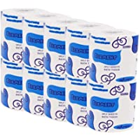 Barlingrock White Silky & Smooth Soft Professional Series Premium 3-Ply Toilet Paper, Home Kitchen Toilet Tissue, Soft, Strong and Highly Absorbent Hand Towels for Daily Use, 10 Rolls