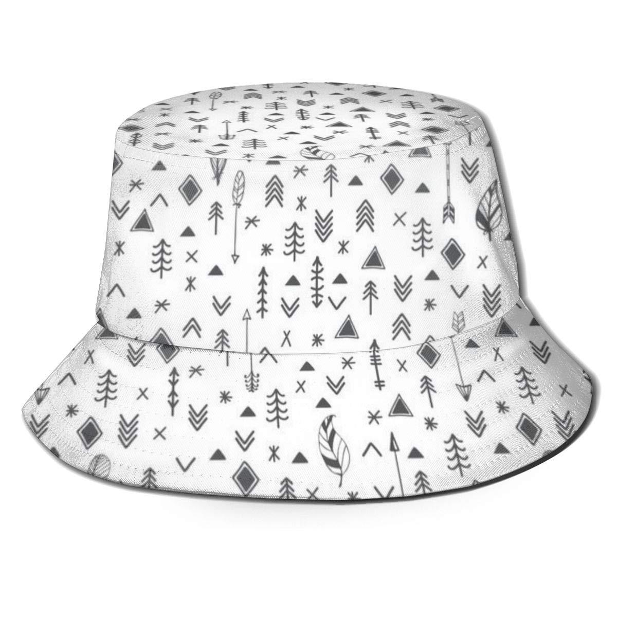 Patrones étnicos sin Costuras Tribal Hand Drawn_50 Unisex Sombrero ...