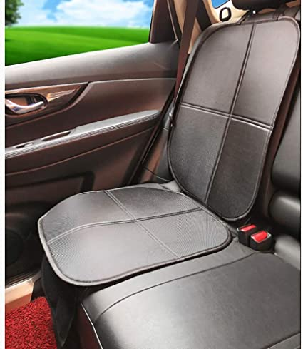 Baby Child Non-slip Car Seat Protector Mat Cushion Cover with Storage Pockets