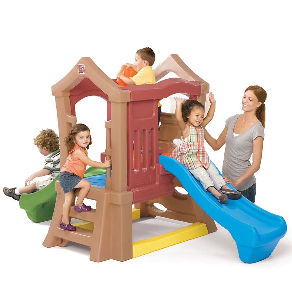 Step2 Play Up Double Slide Kids Climber by Step2