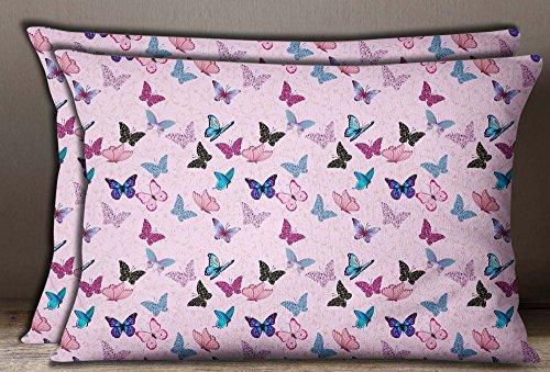 Amazon.com: s4sassy impresión de mariposa decorativa para el ...