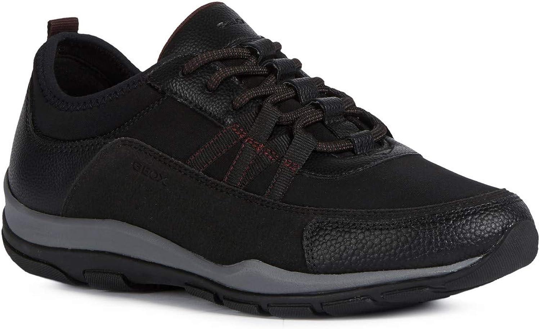 Geox Mujer Zapatos con Cordones KANDER,señora Zapato Deportivo,Removable Insole