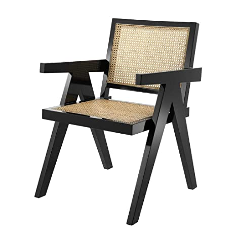 Astounding Amazon Com Natural Cane Dining Arm Chair Eichholtz Ncnpc Chair Design For Home Ncnpcorg