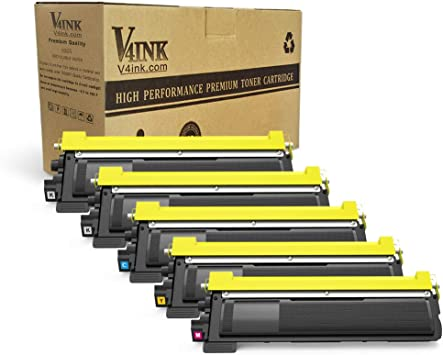8pk BLK COLOR TN-210 TN210 Toner Cartridge for Brother