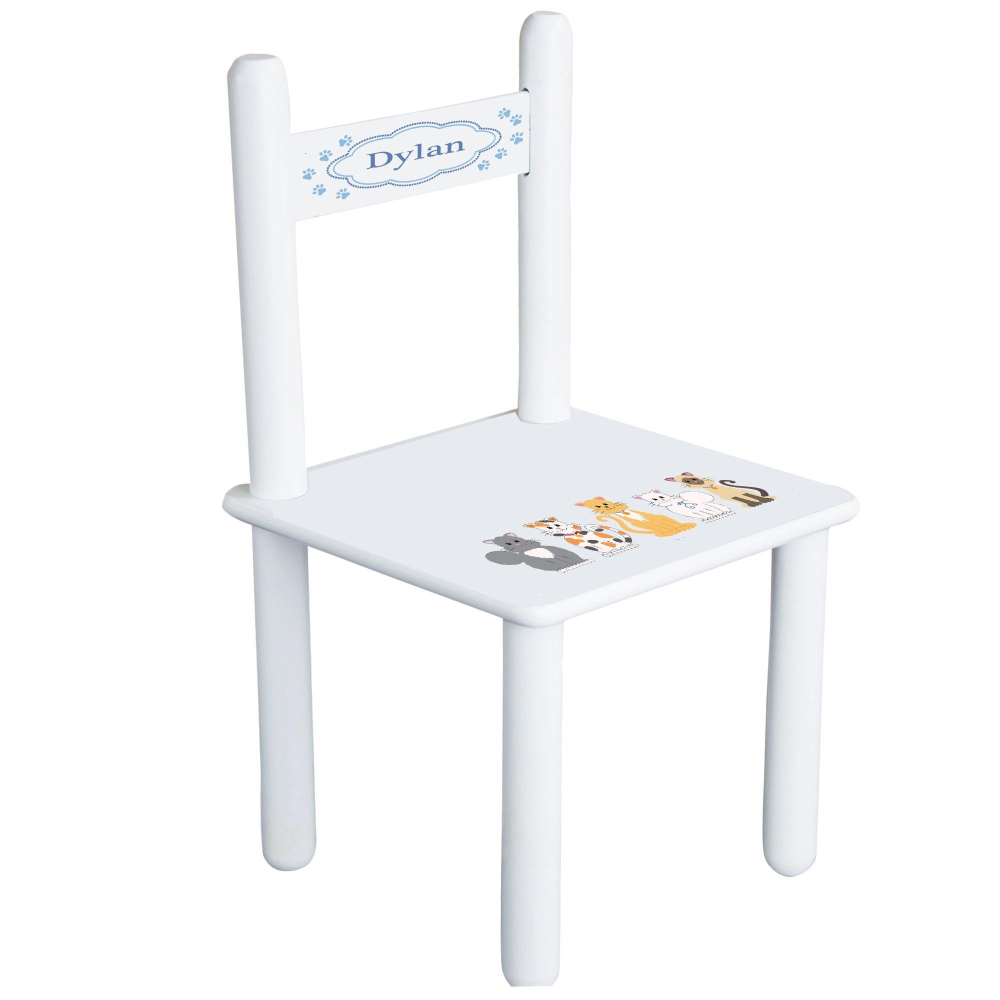 MyBambino Personalized Kitty Cat Childrens Chair