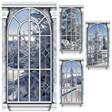 Winter Wonderland Window Panel Standee Set