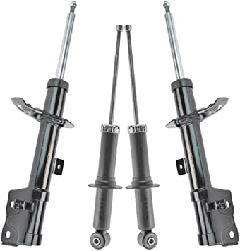 Struts Rear Left /& Right Pair Set for 07-12 Dodge Caliber Jeep Compass Patriot