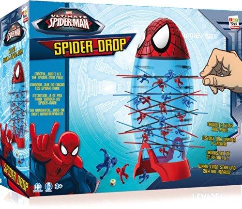 Marvel Spiderman Spider-Drop Game Kerplunk Super Heroes -