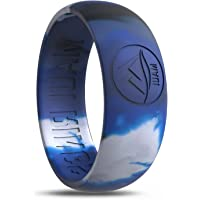 Silicone Wedding Ring MAUI RINGS Engagement Rings for Men Wedding Band Mens Ring Rubber Bands Rubber Ring Mens Rings Silicone Ring Surf Fitness Exercise
