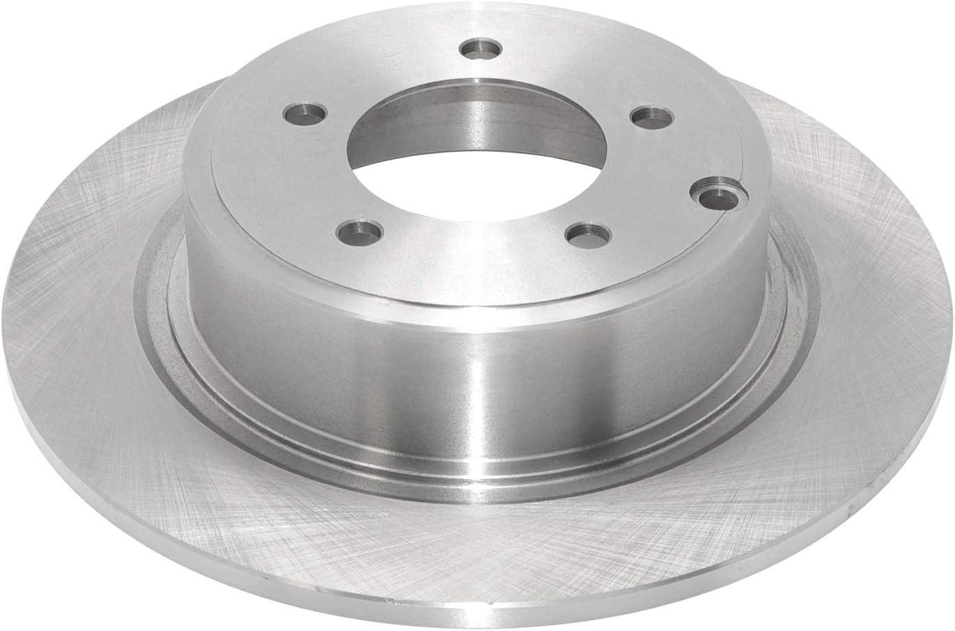 Dura International BR90075002 Rear Solid Disc Premium Electrophoretic Brake Rotor