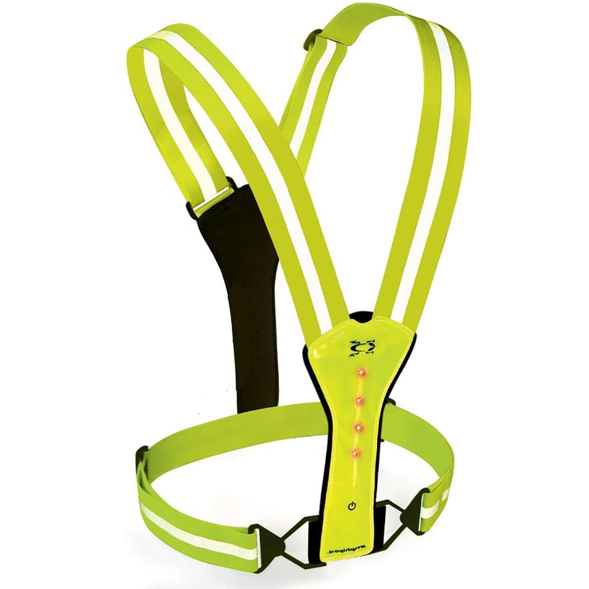 Amphipod Xinglet Flash LED Vest, Neon Bright Grün, OS